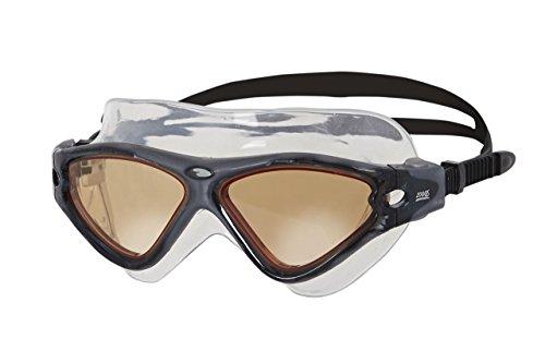 Zoggs Tri-Vision Mask Schwimmbrille, Black, One Size