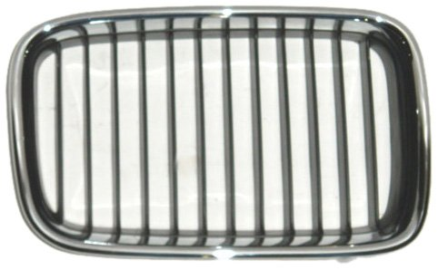 OE Replacement BMW 318/325/M3 Passenger Side Grille Assembly (Partslink Number BM1200114)