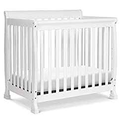 DaVinci Kalani 4-in-1 Convertible Mini Crib in White