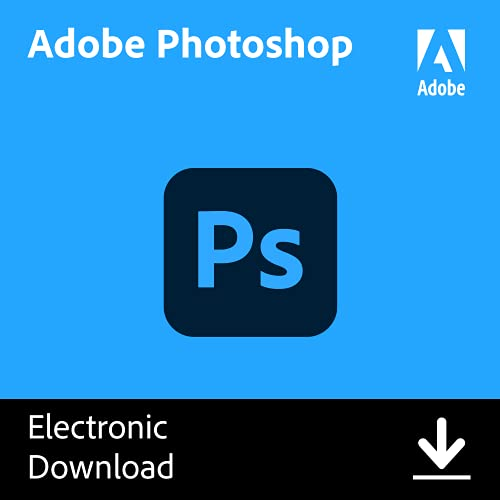 Adobe photoshop | photo, image, and design editing software | 12-month...