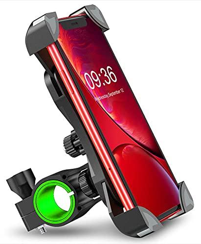 """Cocoda Porta Cellulare Bici, [Design Staccabile Magnetico] Ruotabile a 360°Regolabile Supporto Cellulare Bicicletta Moto, Universale Supporto Telefono Bici Manubrio Accessori per 4.0""""-6.5'' Smartphone"""
