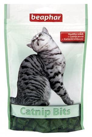 Beaphar Catnip bits Cat Treats Snack Bocaditos Gato 150G, 150 g (Paquete de 1) ✅