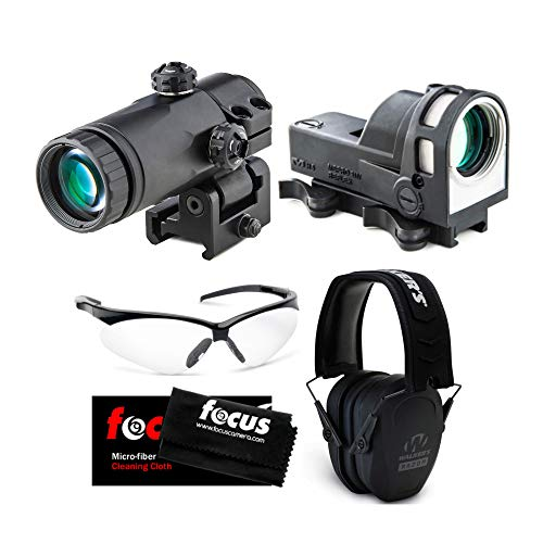 Best Deals! Meprolight M21 30mm Self-Illuminated Day/Night Reflex Sight with Bullseye Reticle with M...