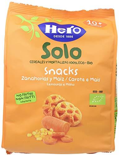 HERO SOLO SNACK DE ZANAHORIA PACK DE 6 x 40