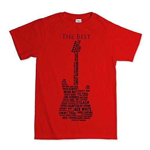 Hpyeed Gitaar Legends 1959 Amerikaanse Standaard Stratocaster T-Shirt