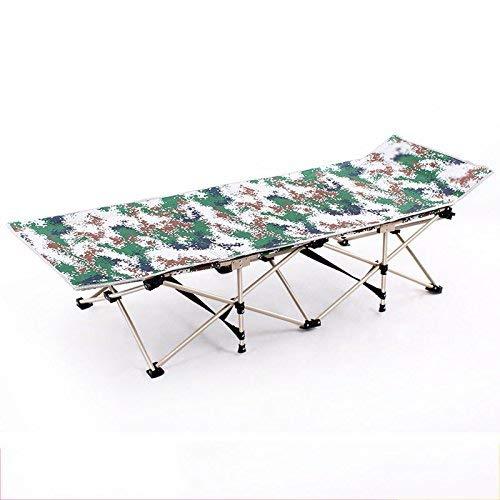 QTQZDD kantoor lig/vriezer bed/rol eenpersoonsbed/klapstoel lunch breakbed (kleur: blauw-B) 1 1
