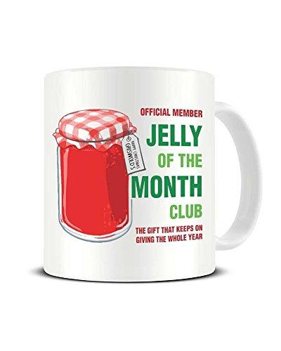 Jelly of The Month Club - National Lampoon's Christmas Vacation - Ceramic Coffee Mug - Tea Mug - Great Gift Idea Funky NE Ltd