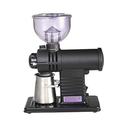 Best Deals! Coffee tools Coffee tools Electric Coffee Grinder Flat Wheel Burr Grinder Coffee Miller(...