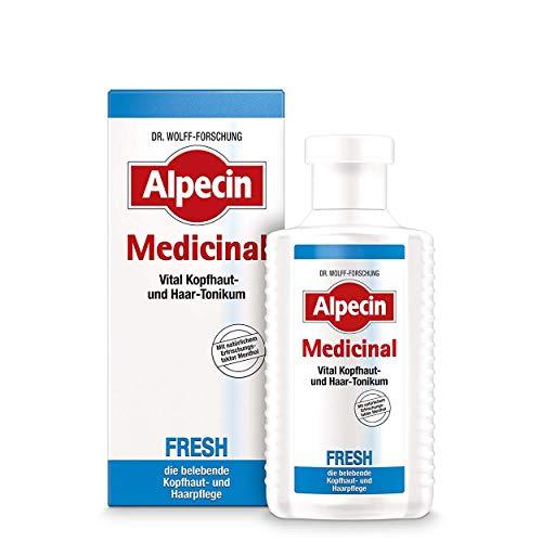 Alpecin Medicinal Fresh Haarwasser Belebende Kopfhaut- und Haarpflege für Männer 3 x 200ml
