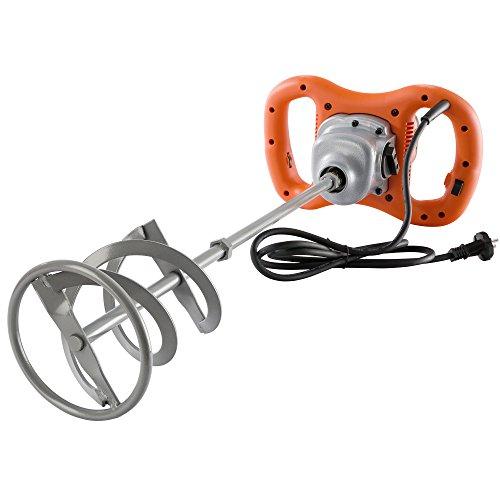 AREBOS Batteur, Fouet électrique, Malaxeur à main, Mixeur de mortier 1200 W