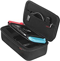 Bestico Case for Nintendo Switch - Black Travel Carry Case for Nintendo Switch with 10 Games Cartridge Holders for...
