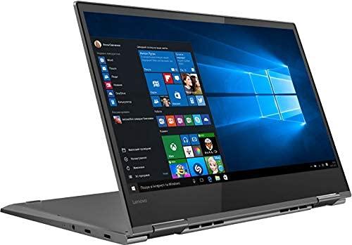 "Lenovo Yoga 730 2-in-1 Laptop, 13.3"" Full HD IPS Touchscreen, Intel Core i7-8550U Processor up to 4.0GHz, 16GB DDR4 RAM, 512GB PCIe NVMe M.2 SSD, Wireless-AC, Bluetooth, Windows 10 Home, Iron Grey"