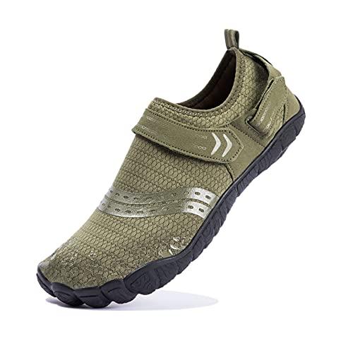 Josaywin Zapatos de Agua Hombre Escarpines Surf Zapatos de Agua para Buceo Snorkel Surf...