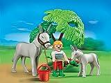 Playmobil kind met ezel en veulen