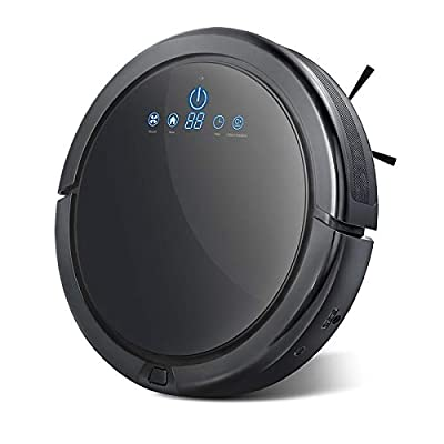 Langbo Robot Vacuum Cleaner with Plan Cleaning Tech, Super Quiet,Strong Suction and HEPA Filter Self-Charging Robotic Vacuums for Pet Hair, Fur, Allergens, Thin Carpet, Hardwood and Tile Floors