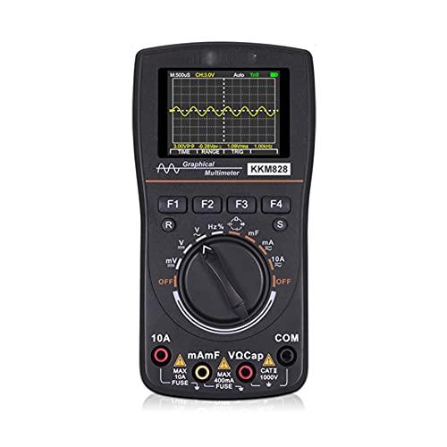 Release Multímetro de osciloscopio Digital con Ancho de Banda de 1MHz Tasa de muestreo Osciloscopio gráfico Inteligente