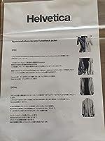 Helvetica Funnelneck jacket