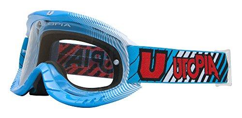 Utopia Gafas Motocross, Azul, L