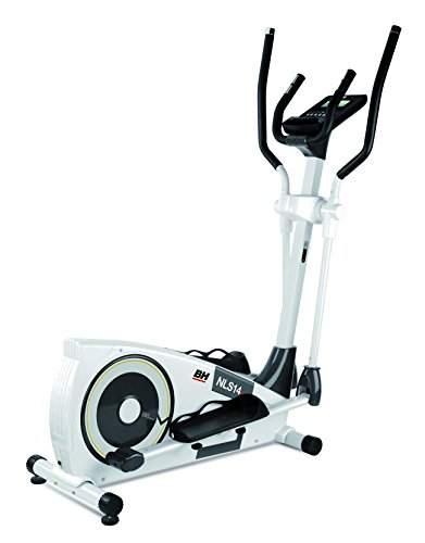 BH Fitness NLS 14 Dual Magnetic Cross Trainer Nero, Bianco