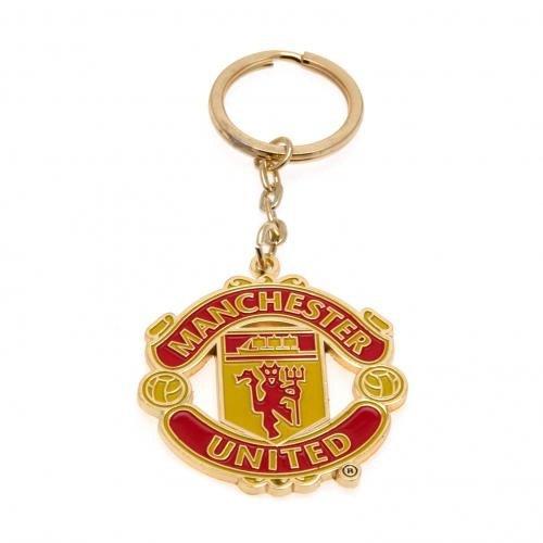 Porte-clés officiel Manchester United FC - Une excellente idée de cadeau d'anniversaire ou de Noël pour homme et garçon
