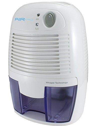 500ml AirPro Mini Compact Air Dehumidifier for Home, Kitchen, Bedroom, Bathroom, Caravan etc by QVS