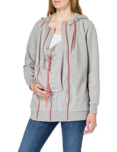 Esprit Maternity Sweatshirt LS 3-Way Sudadera, Gris Mediano 035, 42 Mujer