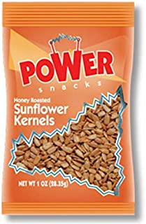 Power Snacks Salted and Honey Roasted Sunflower Seeds, 1 oz., 150 per case
