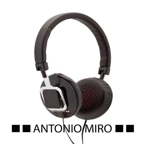 Auriculares Antonio Miró color negro