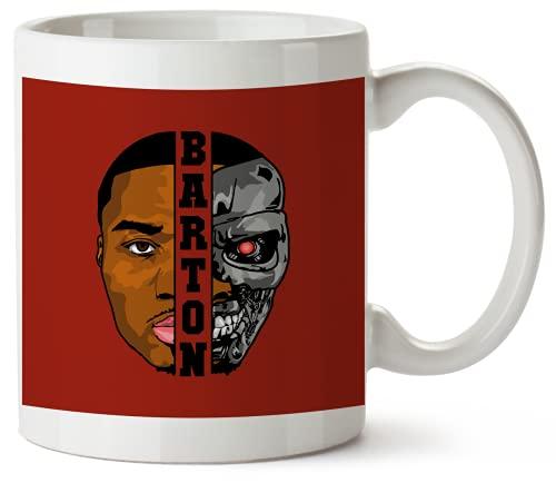 Will Barton Terminator_MA6192 Funny Mug 325ml Coffee Tea Funny Novelty Mug Ceramic White Great Gift Idea Meme Cup