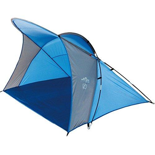 Explorer Strandmuschel Wave UV 60+ Sonnenschutz Windschutz Strandzelt Muschelzelt 200x150x130cm