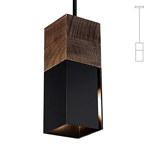 Matiere Pendelleuchte Vintage Hängeleuchte Retro Lampenschirm Industrial für E14 Leuchtmittel, schwarz und weiß wählbar,für Esszimmer Flur Restaurant Keller Untergeschoss usw. 1 Pack