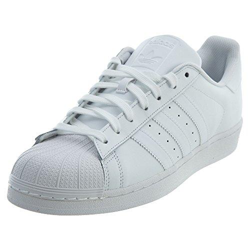adidas Superstar Foundation, Chaussures de Gymnastique homme - Blanc (Footwear White 0), 45 1/3 EU