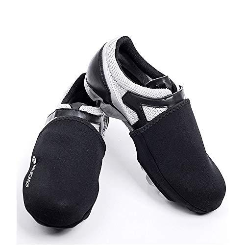 Cubiertas de zapatos de ciclismo unisex Reflexivo impermeable de alta temperatura de zapatos de la cubierta protectora a prueba de viento de bloqueo a prueba de agua Tapa de la zapata de ciclo del ded