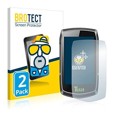 BROTECT 2X Entspiegelungs-Schutzfolie kompatibel mit A-Rival Teasi One3 Displayschutz-Folie Matt, Anti-Reflex, Anti-Fingerprint