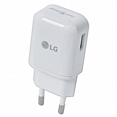 Original LG Ladekabel in Weiss für G3 2.0 USB Datenkabel Netzteil 1.8A Ampere 1800 mAh Ladegerät Aufladekabel Travel Charger MicroUSB LGLW1