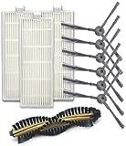 Kit de accesorios accesorios accesorios de limpieza de aspiradora Set de filtros Hepa y filtro de espuma para aspiradora Shark NV350 NV351 NV352 (color: estilo a)