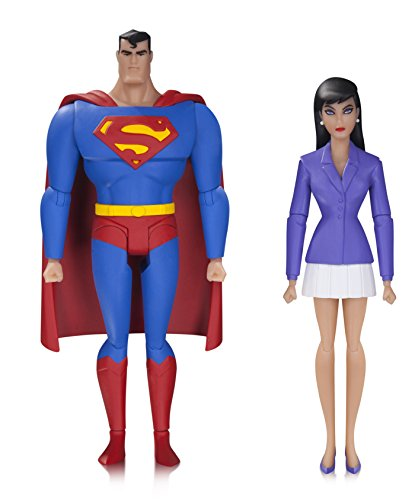 DC Collectibles The Animated Superman & Lois Action Figure (2 Pack)