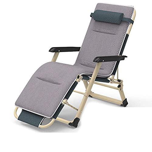 WGFGXQ Outdoor Chairs,Outdoor Folding Zero Gravity Recliner, Adjustable Beach Chairs Sun Lounger Recliner,Maximum Load 200Kg,for Beach Patio Garden Camping