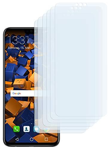 mumbi Schutzfolie kompatibel mit Huawei Honor 8X Folie klar, Bildschirmschutzfolie (6x)