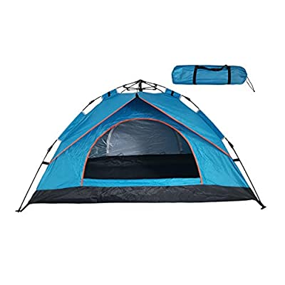 SZYT Camping Tent for 1-2 Person Easy Setup Come with Carrying Bag Blue