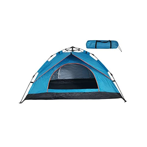 SZYT-Camping-Tent-for-1-2-Person-Easy-Setup-Come-with-Carrying-Bag-Blue