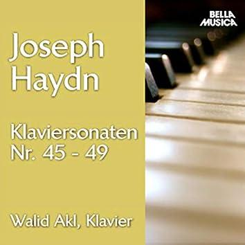 Haydn: Klaviersonaten No. 45 - 49