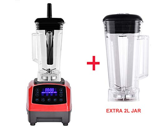 Best Buy! Digital Touchpad Preset Timer Program 2200W Heavy Duty Power Blender Mixer Juicer Food Pro...