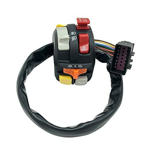 XIAOPENGCASE Linksfield-Lenkerschalter Kompatibel für Polaris Sportsman 500 550 850 Wald 570 Wald/Quad