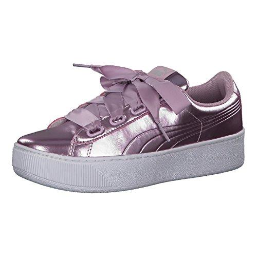 PUMA Damen Vikky Platform Ribbon P Sneaker, Pink Winsome Orchid Winsome Orchid, 41 EU