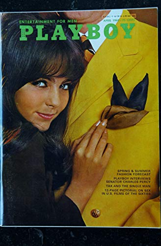 PLAYBOY US 1968 04 APRIL INTERVIEW SENATOR CHARLES PERCY PLAYMATE GAYE RENNIE PIN-UP VARGAS THE SEX OF CINEMA