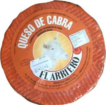 Queso de Cabra Semicurado El Arriero 1 kg
