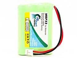 MT-MBP33 for Graco Baby Monitor Battery Replacement (700mAh, 3.6V, NI-MH) - Compatible with Graco 3SN-AAA75H-S-JP2, BATT-2795, iMonitor 2791DIGI1, iMonitor 2795DIGI1, iMonitor 2796VIB1, iMonitor A3940, iMonitor vibe, 2791DIGI1, 2795DIGI1, 2796VIB1, A3940, Vibe