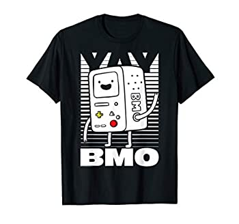 CN Adventure Time BMO Lines T-Shirt