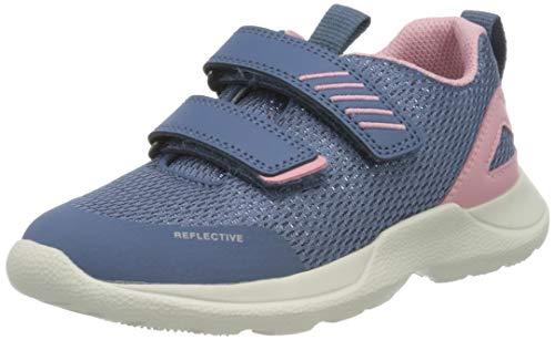 Superfit Baby Mädchen Rush Sneaker, Blau (Blau/Rosa 81), 28 EU